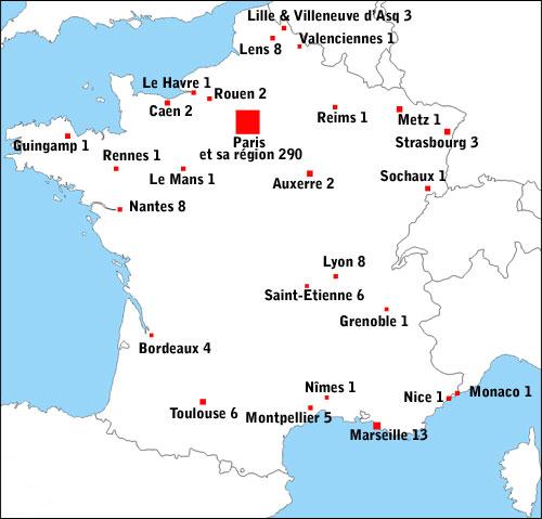 Infos sur » ou se situe angers sur la carte de france » Vacances - Arts- Guides Voyages